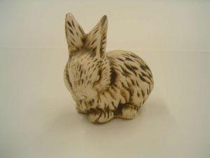Keramický zajíček - stojící uši