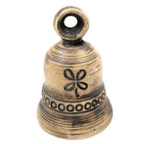 Keramický zvonek - čtyřlístek